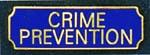 Premier Emblem PA10-5 Crime Prevention