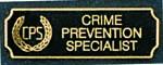 Premier Emblem PA10-6 Crime Prevention Specialist