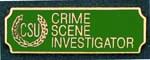 Premier Emblem PA10-7 Crime Scene Investigator