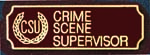 Premier Emblem PA10-8 Crime Scene Supervisor