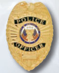 Premier Emblem PB1400 Police Officer Badge