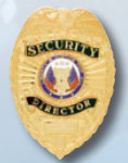 Premier Emblem PB1402 Security Director Badge