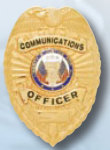 Premier Emblem PB1408 Communications Officer Badge