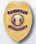 Premier Emblem PB1412 Private Investigator Badge