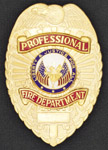 Premier Emblem PROFFIREDEPTSHIELD Professional Fire Department Shield