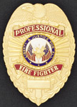 Premier Emblem PROFESSIONALFIREFIGHTER Professional Fire Fighter Eagle Shield