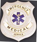 Premier Emblem PB1600 Emergency Medical Serive Shield