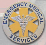 Premier Emblem PB1802 Emergency Medical Service Badge