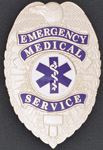 Premier Emblem EMSSHIELD Emergency Medical Service Eagle Shield