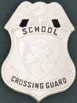 Premier Emblem PB236 Lion Scale Of Justice Shield - School Crossing Guard