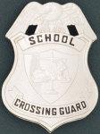 Premier Emblem PB236 Lion Scale Of Justice Shield - School Crossing Guard