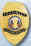 Premier Emblem PB306 Security Enforcement Badge
