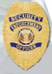 Premier Emblem PB700 Security Enforce Officer Badge