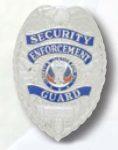 Premier Emblem PB702 Security Enforcement Guard Badge