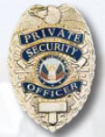 Premier Emblem PB708 Private Security Officer Badge