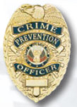 Premier Emblem PB720 Crime Prevention Officer Badge