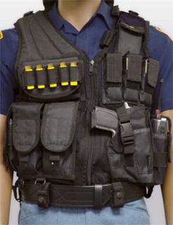 Premier Emblem PBG-320 Cross Draw Tactical Vest Style # PBG-320