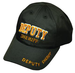 Premier Emblem PC650 DEPUTY SHERIFF Stretchable Cap (3D - Letters)