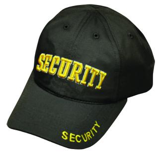 Premier Emblem PC670 SECURITY Stretchable Cap (3D - Letters)