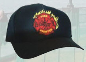 Premier Emblem PC7822 FIRE FIGHTER LOGO CAPS