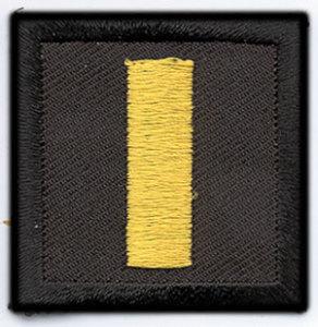 Premier Emblem PE1000 1 1/2 x 1 1/2 Lieutenant