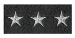 Premier Emblem PE626 5/8 Stars on Felt on Strips