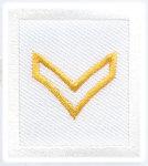 Premier Emblem PE950 1 1/2 x 1 3/8 Corporal
