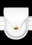Premier Emblem PL8113W White Handcuff Case