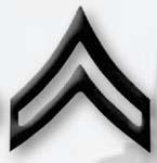 Premier Emblem PMBM-103 Black Metal - Corporal