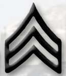 Premier Emblem PMBM-105 Black Metal - Sergeant