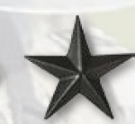 Premier Emblem PMBM-122 Black Metal - Brigadier General
