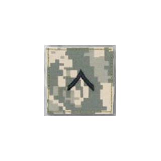 Premier Emblem PMSV-101 BLACK ACU ranks WT VELCRO - Private