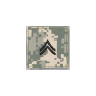 Premier Emblem PMSV-103 BLACK ACU ranks WT VELCRO - Corporal