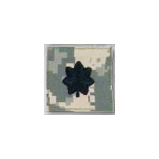 Premier Emblem PMSV-120 BLACK ACU ranks WT VELCRO - Lt Colonel