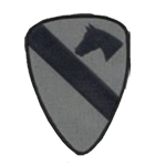 Premier Emblem PMV-0001C 1st Cavalry Div