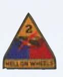Premier Emblem PMV-0002B 2nd Armor Div