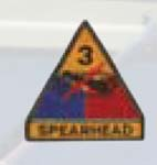 Premier Emblem PMV-0003B 3rd Armor Div