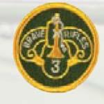 Premier Emblem PMV-0003H 3rd Armor Cavalry