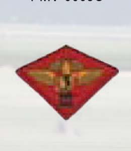 Premier Emblem PMV-0003M 3rd Marine Aircraft Wing