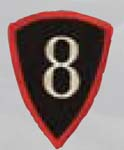 Premier Emblem PMV-0008D 8th Personnel Cmd