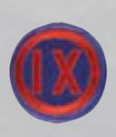 Premier Emblem PMV-0009B 9th Corps
