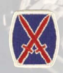 Premier Emblem PMV-0010A 10th Infantry Div
