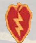 Premier Emblem PMV-0025A 25th Infantry Div