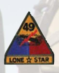 Premier Emblem PMV-0049A 49th Armor Div