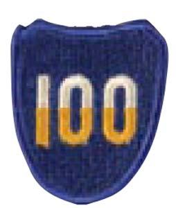 Premier Emblem PMV-0100A 100th Infantry Div