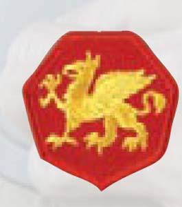 Premier Emblem PMV-0108A 108th Abn Div
