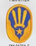 Premier Emblem PMV-0123A 123rd ARCOM