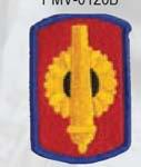 Premier Emblem PMV-0130B 130th FA Bde