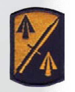 Premier Emblem PMV-0158A 158th Infantry Bde
