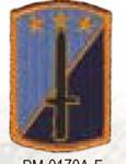 Premier Emblem PMV-0170A 170th Infantry Div